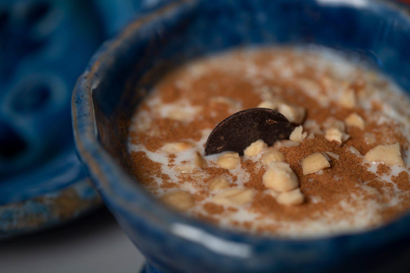 Biancomangiare con Mandorla di Avola (Presidio Slow Food)
