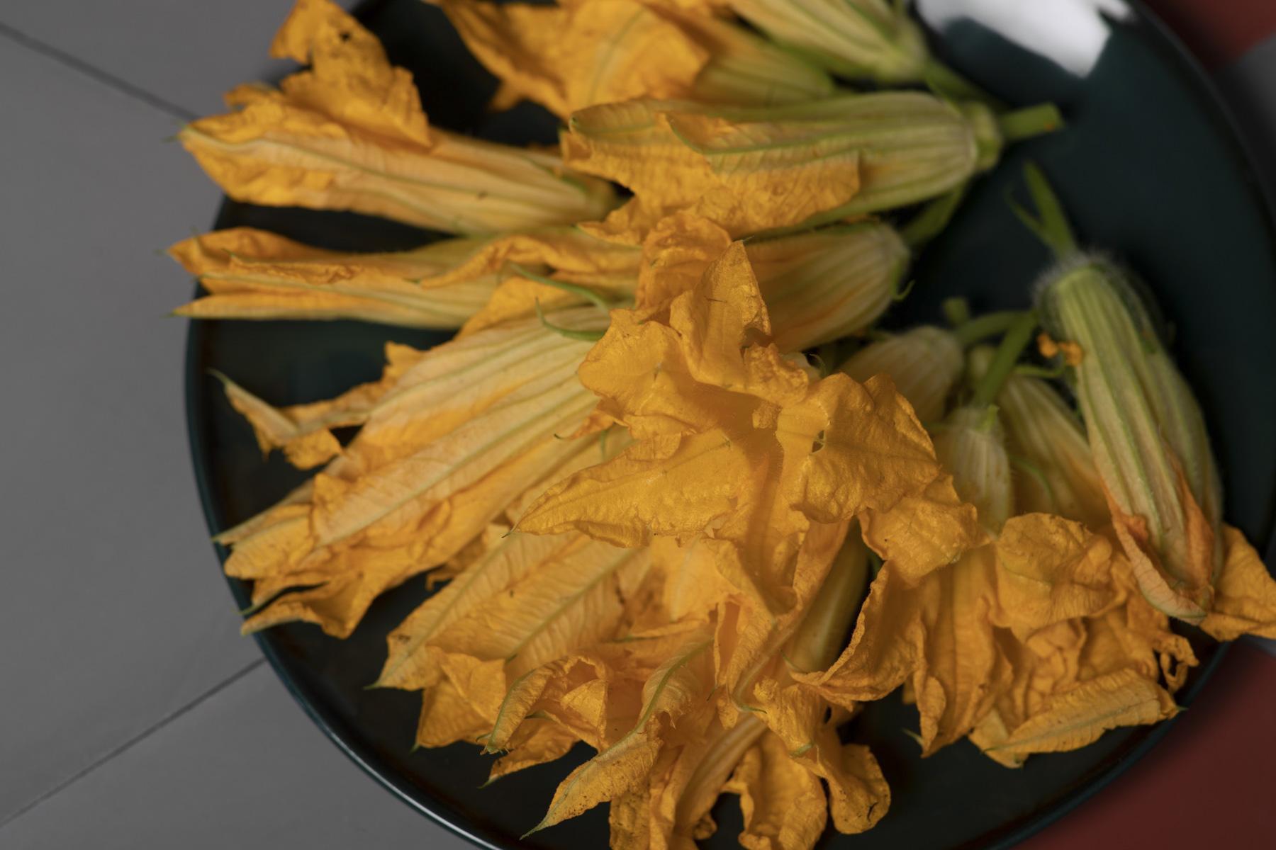I fiori di zucca: sceglierli e cucinarli